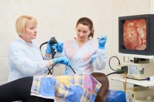 Untersuchung der Speiseröhre